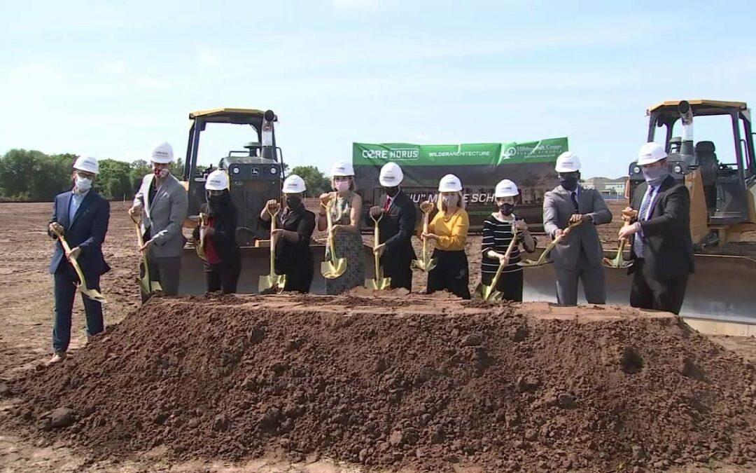 Groundbreaking for New School in Apollo Beach
