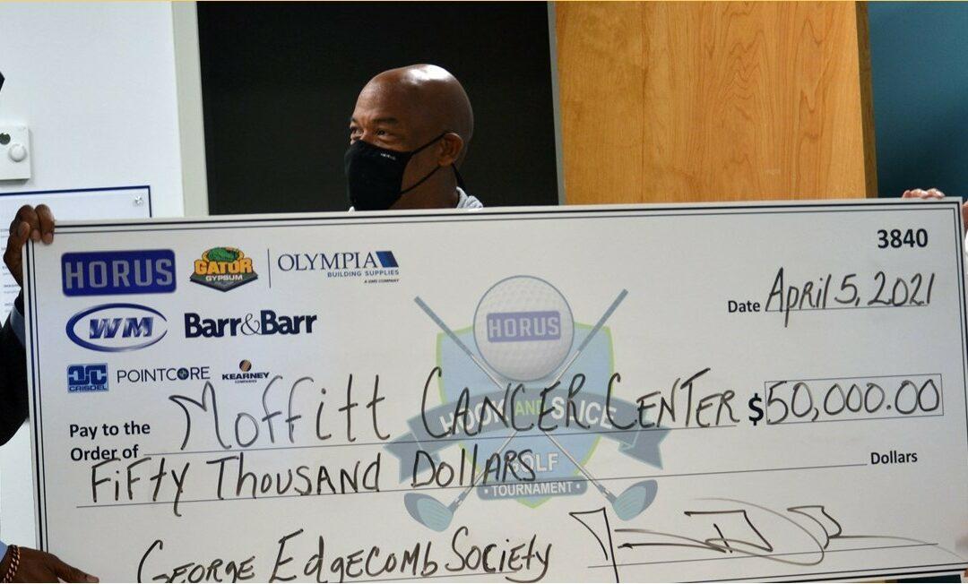 HORUS Construction Donates $50,000 to George Edgecomb Society